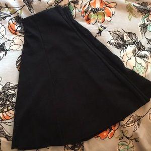 Brandy Melville black skater  skirt